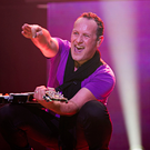 Family man: Vivian Campbell