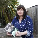 Write stuff: Kelly Creighton with her new book of short stories