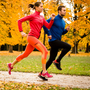 Great outdoors: invest in weatherproof gear and get out for a run or walk