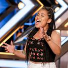 Big moment: Rwanda Shaw on The X Factor