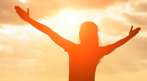 Helpful rays: sunlight is one way of boosting the body with some vitamin D