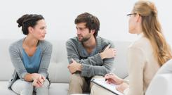 Talking helps: couples going through difficulties can get help through counselling