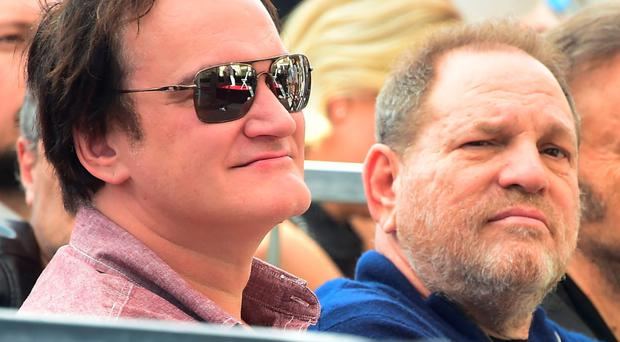 Unusually contrite: film director Quentin Tarantino said this week he ought to have done more given the allegations he had heard about Harvey Weinstein