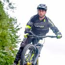 Just champion: mountain biker Colin Ross believes in sticking to a routine