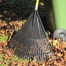 Clean up: leaves can be a problem at this time of year
