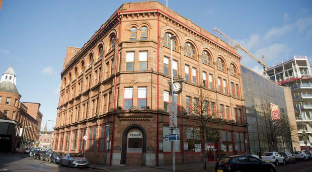 The old Belfast Telegraph building on Royal Avenue