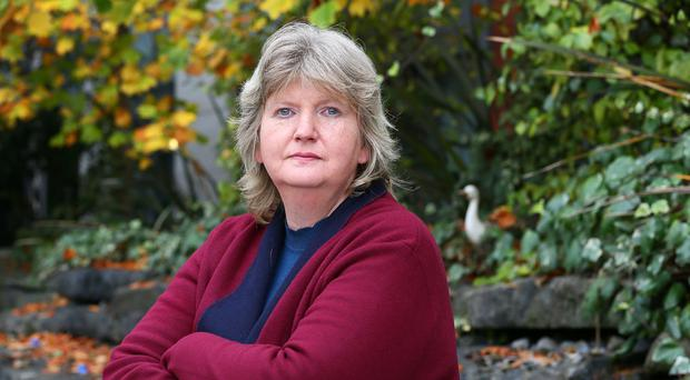 Family ties: Anne Marie O'Donnell, the sister of triple murderer Brendan O'Donnell, whose troubled life is has been dramatised in a new film entitled Property of the State