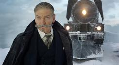 Herculean task: Kenneth Branagh in Murder on the Orient Express