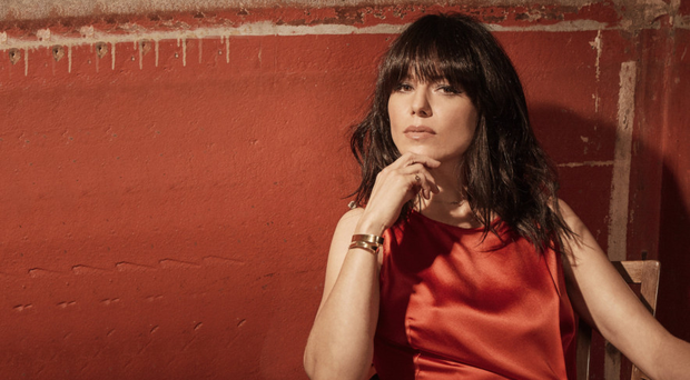 Perfect harmony: Imelda May has a good relationship with her ex-husband