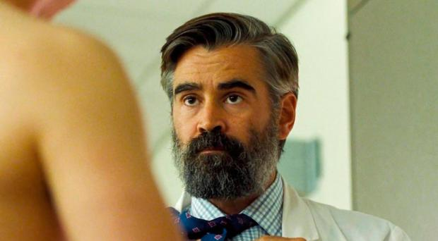 Breaking point: Colin Farrell in The Killing of a Sacred Deer