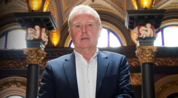 Publican, hotelier and entrepreneur Bill Wolsey in the Merchant Hotel