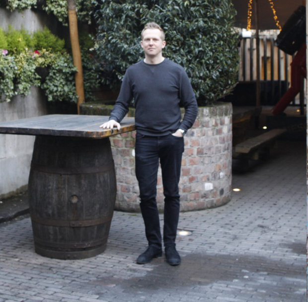 Tim Heron, the manager of the Dirty Onion — part of Mr Wolsey's empire