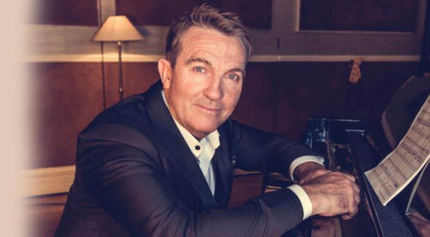 All-rounder: showbiz star Bradley Walsh has just released his new album