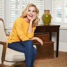 Busy mum: Helen Skelton has her work cut out looking after the boys