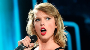 Bankable star: Taylor Swift on stage