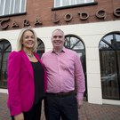Power couple: Roisin and Conor O'Donnell of Tara Lodge