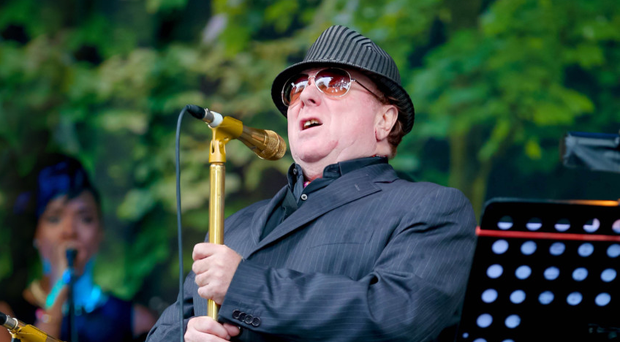 Cultural icon: Van Morrison was part of a musical movement in Belfast from the Sixties onwards