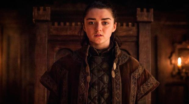 Maisie Williams accused of giving away Game of Thrones spoilers