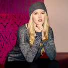 Country singer Ashley Campbell at the Clayton Hotel in Belfast