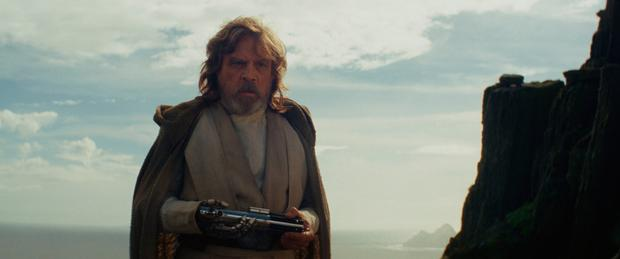 Full force: Mark Hamill in the new film