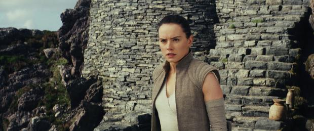 New generation: Daisy Ridley in the latest Star Wars instalment