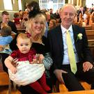 Mary and Pete with granddaughter Lucy