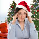 Party pains: Christmas can take its toll in the shape of hangovers, exhaustion and stress
