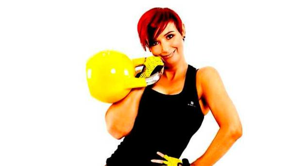 Fighting fit: fitness trainer Lisa Barwise
