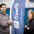 Fighting fit: James Poole and Claire Cleland