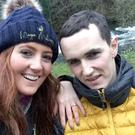 Childhood sweethearts Jonjo Bright and Reah Magee got engaged on Christmas Eve