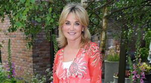 Break time: Anthea Turner is in Belfast this week
