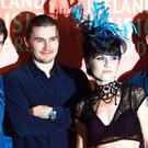 Dolores with bandmates from The Cranberries, Noel Hogan, Mike Hogan and Fergal Lawler