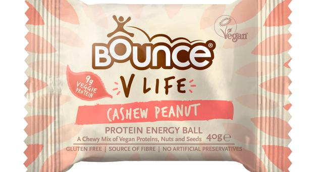 Bounce V Life Cashew and Peanut Protein Energy Ball