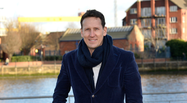 Tour time: Brendan Cole in Belfast launching his new show
