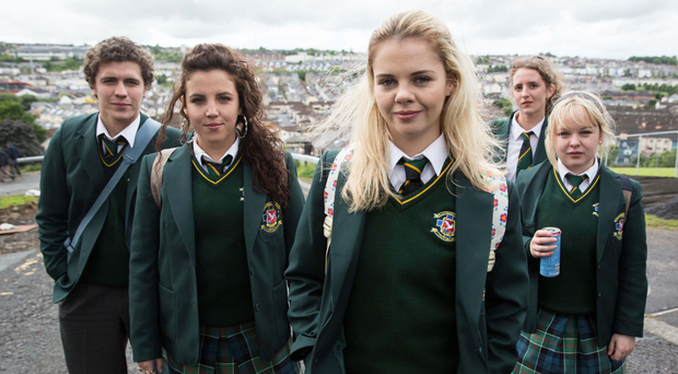 Derry Girls has become an instant hit.