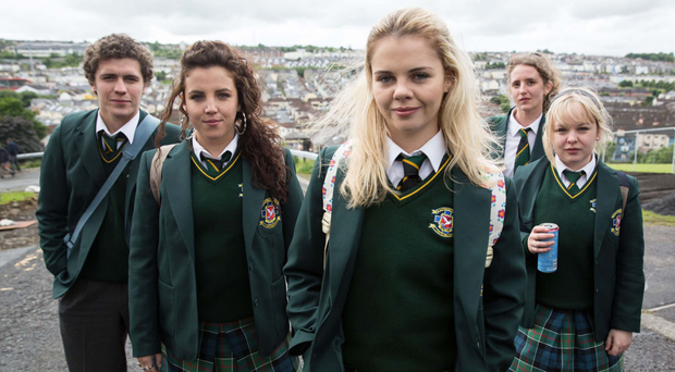 The cast of Derry Girls. (Channel 4)