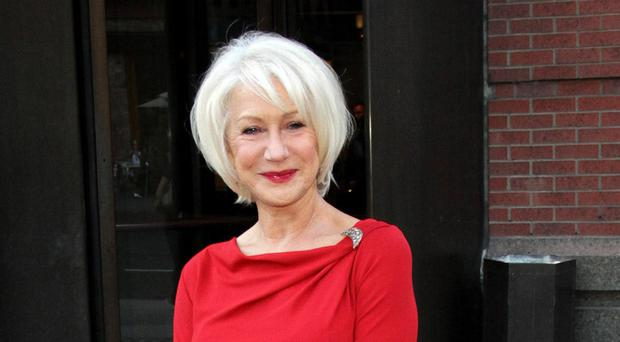 Leading lady: Helen Mirren