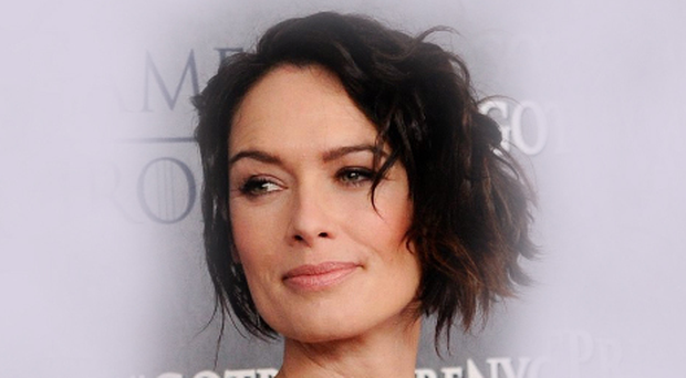 Straight talk: Lena Headey on the red carpet