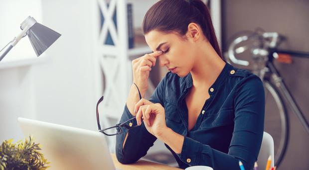 Serious issue: a sedentary job could take a toll on your body