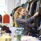 Treasure trove: some of today's charity shops have a wealth of choice for shoppers seeking cut-price clothes