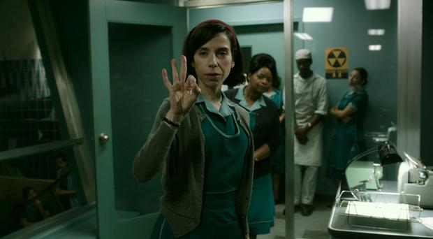 Haunting fable: Sally Hawkins as Elisa in The Shape of Water