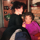 Treasured memories: Paul's mum Bernadette with his wife Geraldine