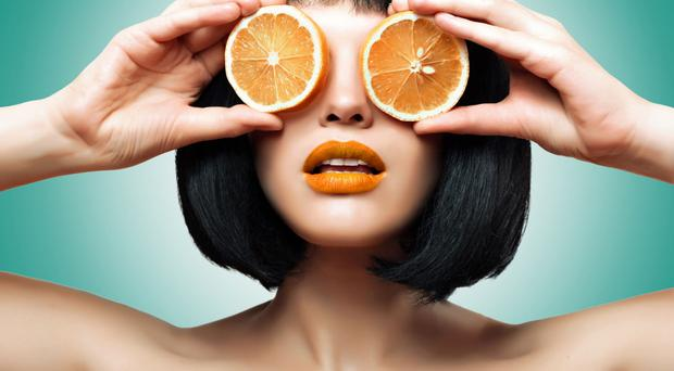 Eye-catching: vitamin C can work wonders when applied to the skin