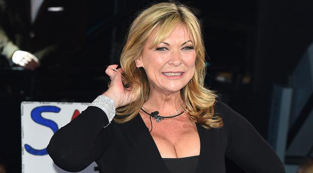 Busy life: Claire King going into the Celebrity Big Brother house