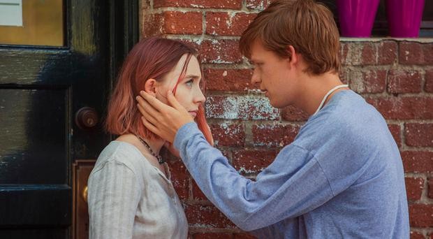 Tender tale: Saoirse Ronan and Lucas Hedges