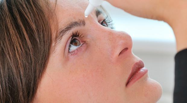 Simple remedy: administering eye drops