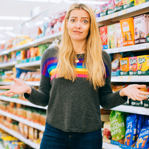 Healthier approach: It took Cherry Healey years to overcome her food hang-ups