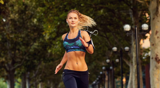 Support: it's important to keep your chest secure while running