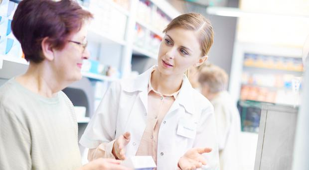 Healthy advice: the local pharmacist can offer help on a range of issues