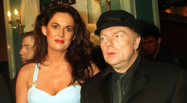 Happier times: Van Morrison with ex-wife Michelle Rocca